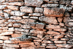 Stones wall Royalty Free Stock Photo