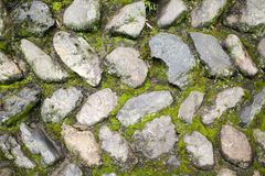 Stones wall Royalty Free Stock Images