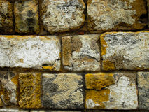 Stones Wall. Ancient Stone Wall with close up details Royalty Free Stock Photography