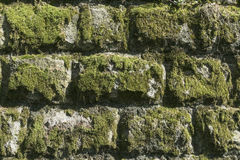 Stones wall as a background. Royalty Free Stock Photography
