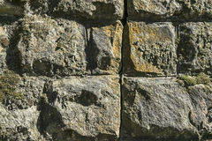 Stones wall as a background. Stock Photo