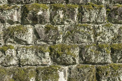 Stones wall as a background. Royalty Free Stock Images