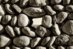 Stones wall background texture Royalty Free Stock Photography