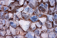 Stones Wall Joined Volume Concept. Stones Rocks Wall Volume Attached Pattern Background Stock Photography