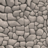 Stones wall seamless texture Royalty Free Stock Image