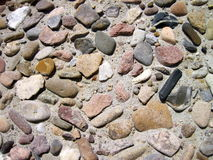 Stones wall texture Royalty Free Stock Photography