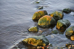 Stones in water Stock Photos