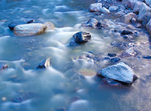 Stones in water Stock Image