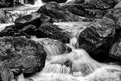Stones and water Stock Photography
