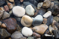 Stones and water royalty free stock image