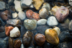 Stones and water Stock Images