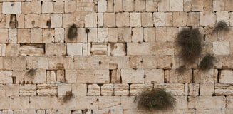 Stones of the western wall Stock Photo