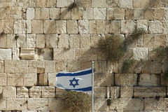 Stones of the western wall Stock Image