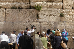 Stones of the western wall Royalty Free Stock Image