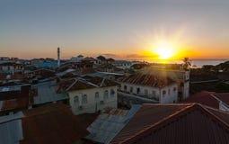 Stonetown Sansibar Lizenzfreie Stockfotografie