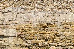 Stonewall as textured background Royalty Free Stock Image