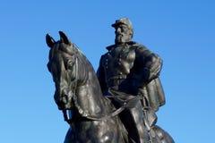 Stonewall Jackson Statue Royaltyfri Bild