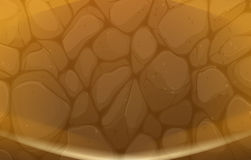 A stonewall texture. Illustration of a stonewall texture Stock Image