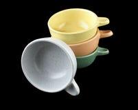 Stoneware Bowls Stock Image