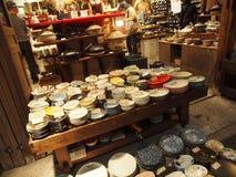 Stoneware - Plates & Bowls Stock Photo