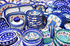 Stoneware Products, Poland Royalty Free Stock Photo