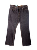 Stonewashed jeans Stock Photography