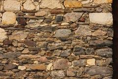 Stonework. An old wall. Stonework texture Stock Photos