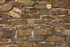 Stonework. An old wall. Stonework texture stock photography