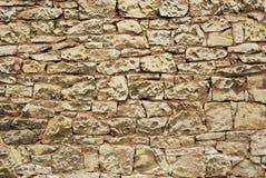 Stonework. Structure of an old stone masonry Royalty Free Stock Photos