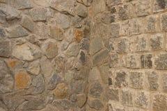 Stonework background. Background, based on the basis of masonry of natural stones Stock Photos