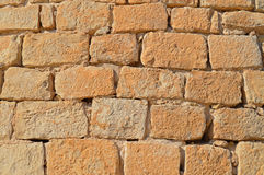 Red Stonework Stone Brick Background Royalty Free Stock Photography
