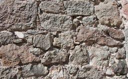Stonework da alvenaria Imagem de Stock
