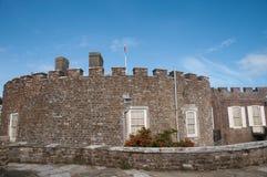 Stonework do castelo Imagens de Stock Royalty Free