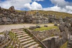 Stonework do Inca - Sacsayhuaman - Peru Imagens de Stock Royalty Free