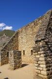 Stonework fino em casas do Inca Imagem de Stock
