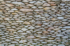 Stonework, fragment of a wall Royalty Free Stock Photos
