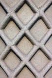 Stonework lattice. Latticework on stone column Stock Photo