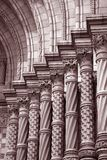Stonework on National History Museum Stock Photos