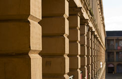 Stonework of in Piece Hall, Halifax Royalty Free Stock Image