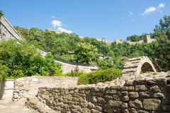 Stonework in Veliko Tarnovo Stock Photography