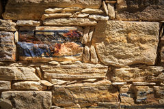 Stonework wall background Stock Photography