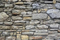 Abstract stonewall background Royalty Free Stock Images
