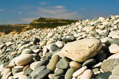 stoney пляжа Стоковое Фото