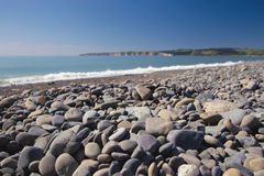 Stoney beach Stock Photo