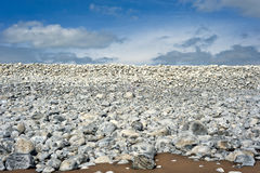Stoney beach Royalty Free Stock Photography
