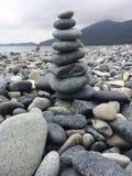 Stoney beach. Stones on a stoney beach Stock Images
