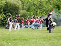 Stoney Creek Battlefield 2009 royalty-vrije stock foto