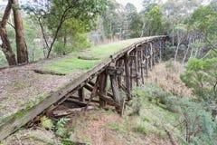 Stoney creek bridge near Nowa Nowa royalty free stock photos