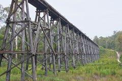 Stoney Creek Trestle Bridge Stock Foto