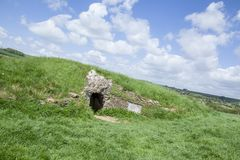 Free Stoney Littleton 3,500 BC | Long Barrow Inside Royalty Free Stock Photography - 163682857